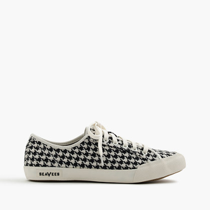 Seavees® for J.Crew 06/67 Monterey sneakers in houndstooth