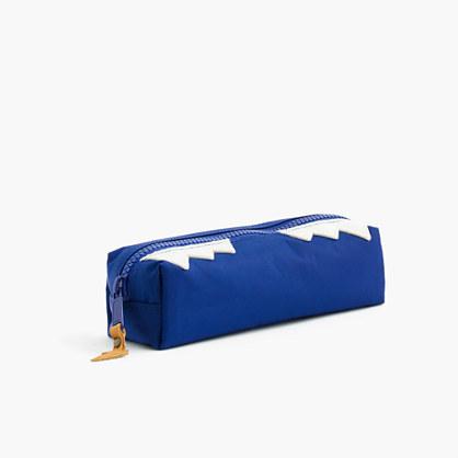 Kids' snaggletooth monster pencil case