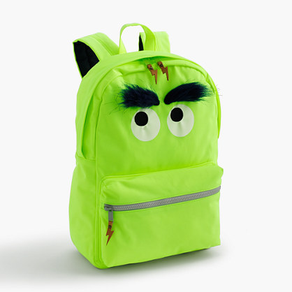 Kids' Max the Monster furry backpack