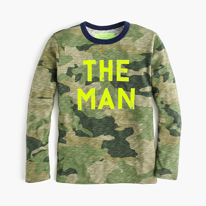 Boys' long-sleeve glow-in-the-dark