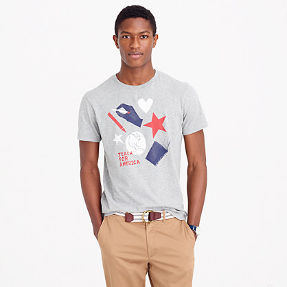 J.Crew for Teach for America T-shirt