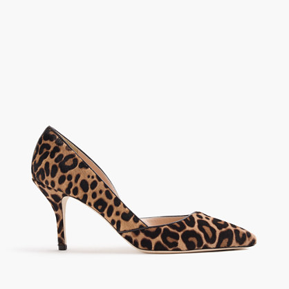 Colette d'Orsay pumps in leopard calf hair