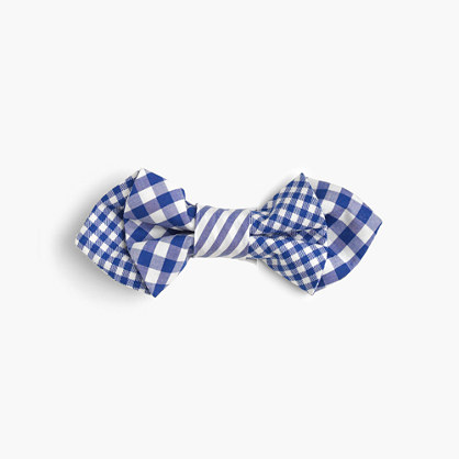 Boys' mash-up cotton bow tie