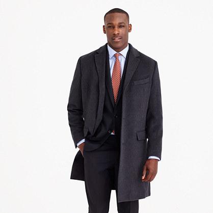 Crosby topcoat in Italian wool-cashmere
