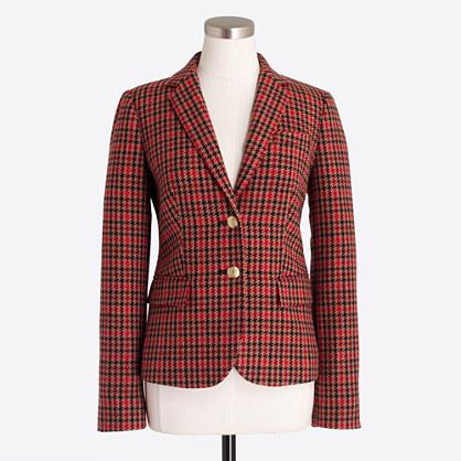 Factory patterned schoolboy blazer