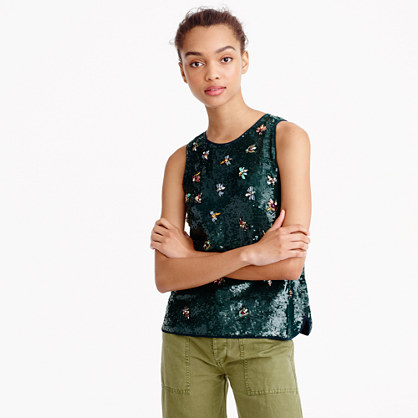 Collection sequin firefly shell