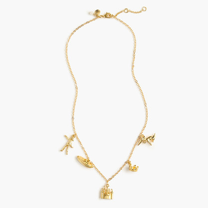 Girls' Olive and Izzy charm necklace