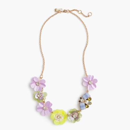 Girls' multiflower necklace