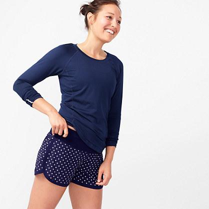 New Balance® for J.Crew polka-dot running short