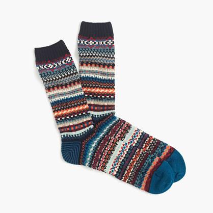 "Chupâ""¢ navy socks"