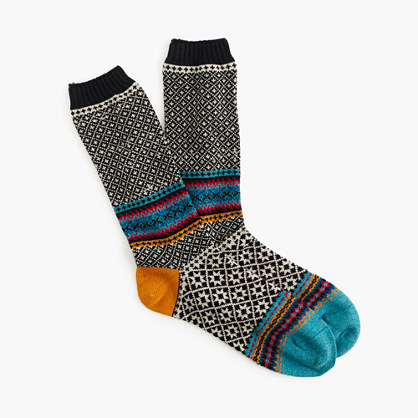 "Chupâ""¢ geometric socks"