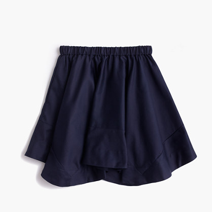 Girls' pull-on handkerchief skirt