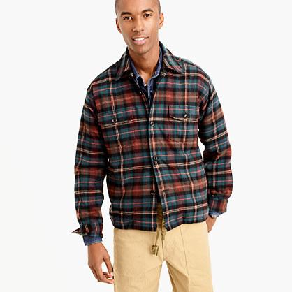 Shuttle Notes® horses shirt-jacket