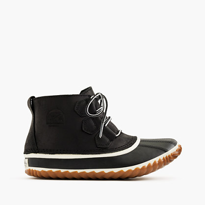 Women's Sorel® Out N About™ leather boots in black