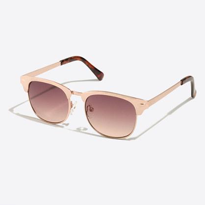 Girls' retro sunglasses