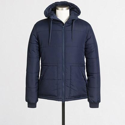 Peakside puffer jacket