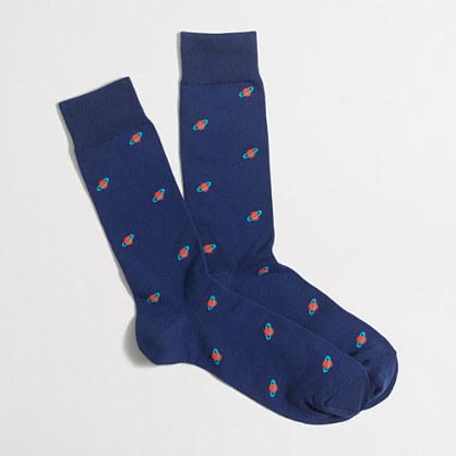 Saturn socks