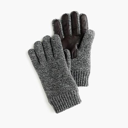Wool smartphone gloves
