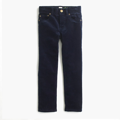Boys' stretch skinny pant in corduroy