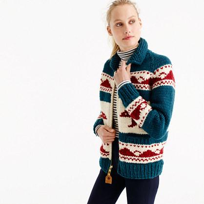 """Canadian Sweater Companyâ""""¢ bear cardigan sweater"""