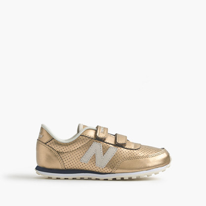 Kids' New Balance® for crewcuts 410 sneakers in gold