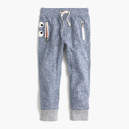 Boys' heathered slim jogger in Max the Monster