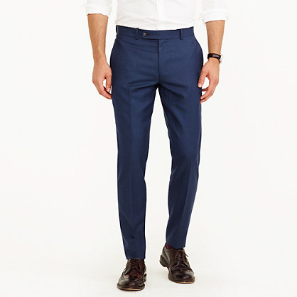 "Martin Greenfieldâ""¢ for J.Crew Ludlow suit pant in American wool"