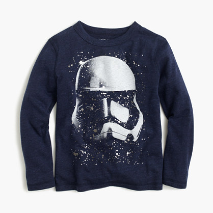 "Kids' Star Warsâ""¢ for crewcuts Stormtrooper helmet T-shirt"