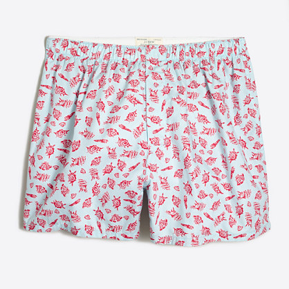 Seashell boxers