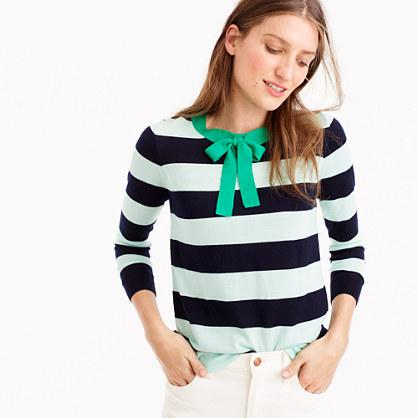 Tippi tie-neck sweater