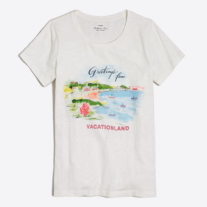 Postcard collector T-shirt
